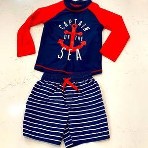 Carter's Bundle: Baby boy Swim Set. NWOT 💙